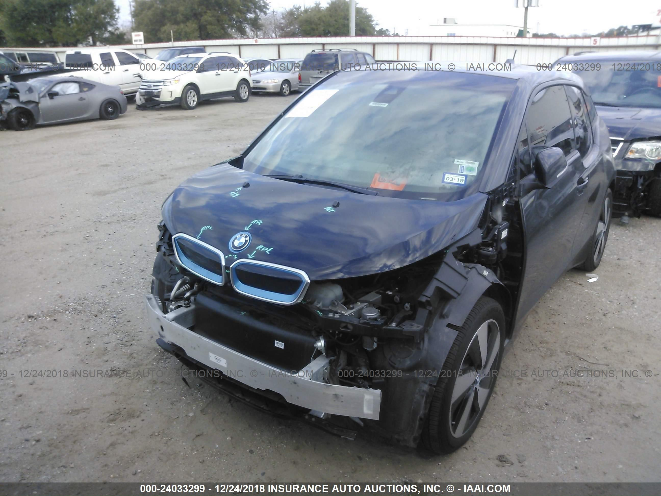 Iaai Houston North >> Wby1z2c58ev284953 2014 Bmw I3 5300 Autoastat Statistic